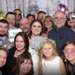 The Elke's Wedding Photo Booth at the Claresholm Community Centre